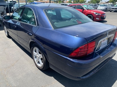 2002 Lincoln LS w/Base Pkg